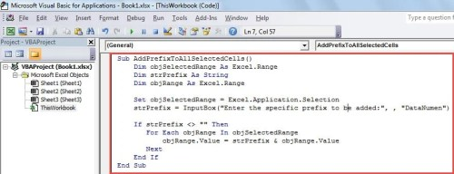 3 Handy Methods to Batch Add a Prefix to Multiple Cells in