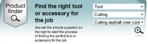 Makita product finder