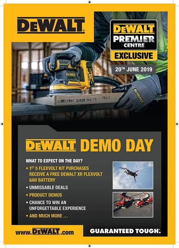 DeWALT Demo Day June 2019