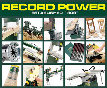 Record Power Spring Promotion Woodworking Show