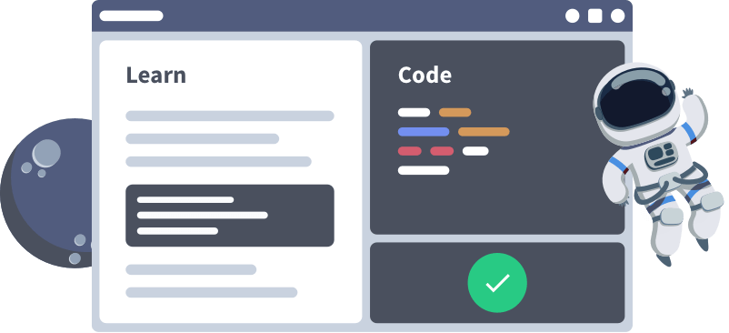 learn, then code