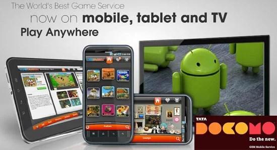 TataDocomo Lets-Play Game Subscription Service Gametanium