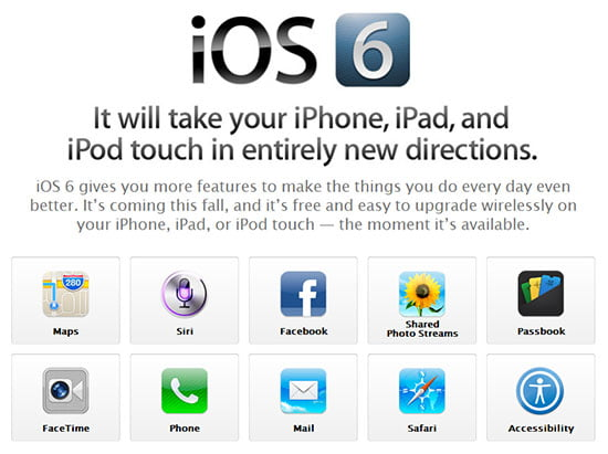 Everything you need to know about the new Apple iOS 6