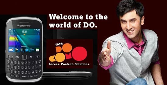 RIM Partners with Tata Docomo for Free Calls and SMS to Blackberry 9320 Users