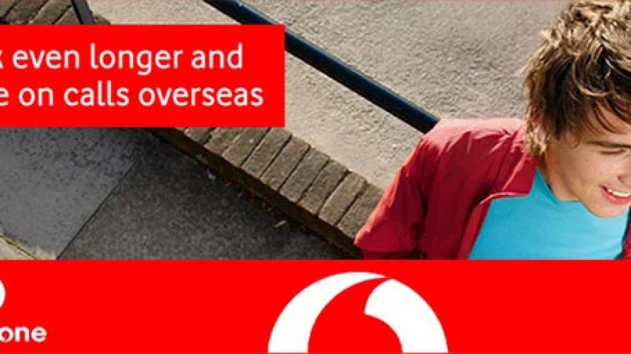 Vodafone Special International Roaming Pack at One-time