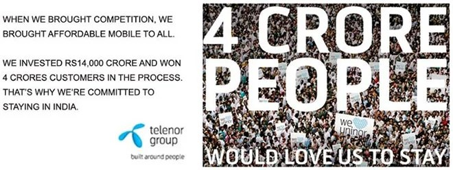 Telenor Uninor to Scale Down Indian Operations from 13 to 9 Telecom Circles