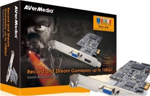 Ultimate GamePlay Capture Card for Consoles and PC from AVerMedia