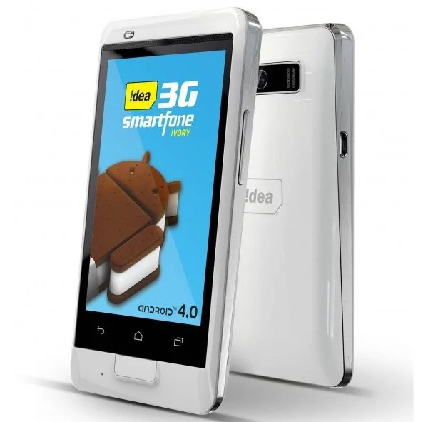 Idea Cellular Intros 'Ivory' Android 3G dual-SIM Smartphone at Rs 7,490