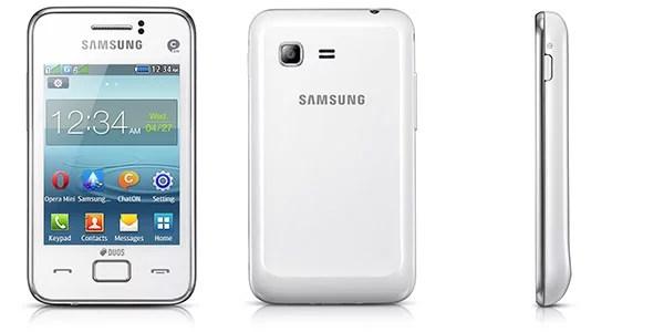 Samsung REX 80 feature phone