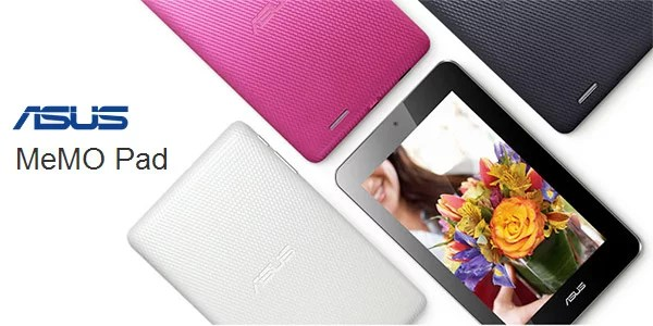 Asus unveils 7inch MeMO Pad with Android Jelly Bean in India for Rs 9,999