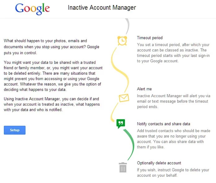 Google let's you plan your Digital Afterlife with 'Inactive Account Manager'