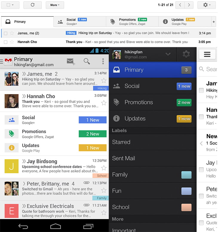 Take Control of your Email Inbox with Redesigned Gmail