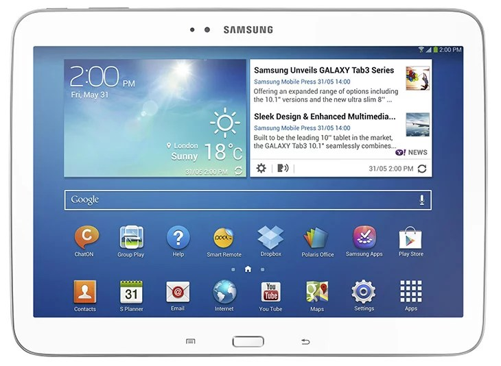 GALAXY Tab 10.1 inch tablet