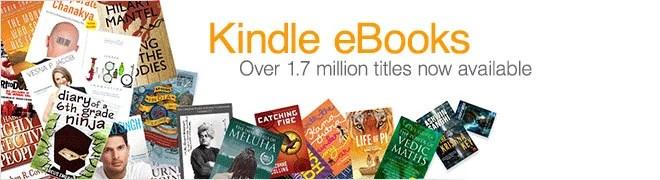 Indian Kindle e-bookstore