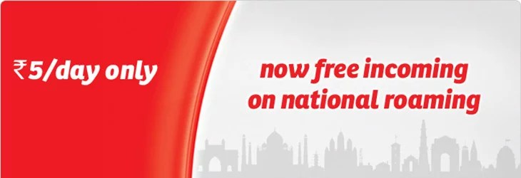 Airtel National Roaming Plans