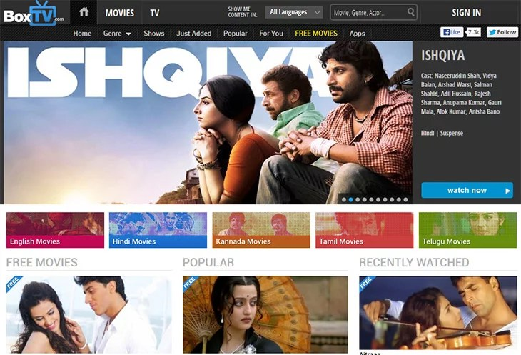India's Premium Video Streaming service BoxTV crosses 50 million views in 4 months