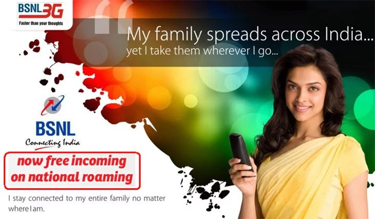 BSNL and MTNL new Roaming plans Offering Free Incoming Calls on National Roaming