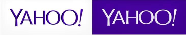Yahoo brand redesigned logo