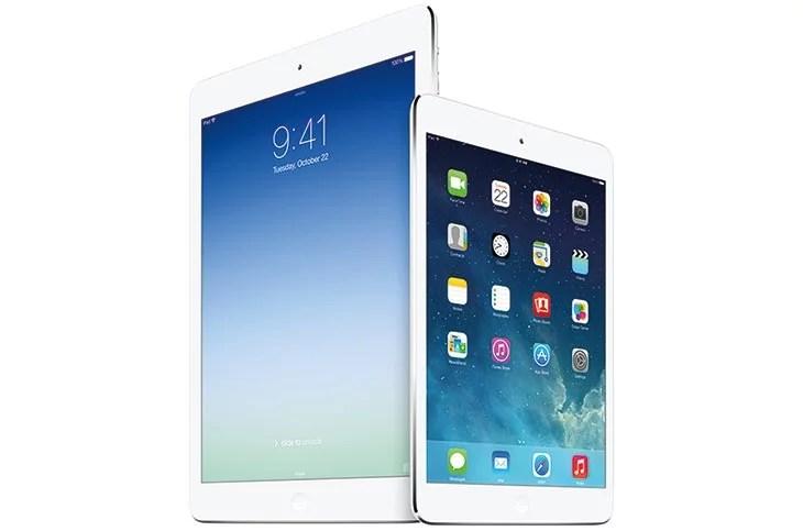 iPad Air and upgrade iPad Mini with Retina display