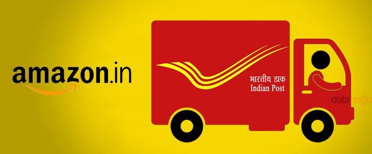India Post Partnership with Amazon India