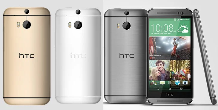HTC One (M8) unveiled with metal unibody, Duo camera & Indian 4G LTE support
