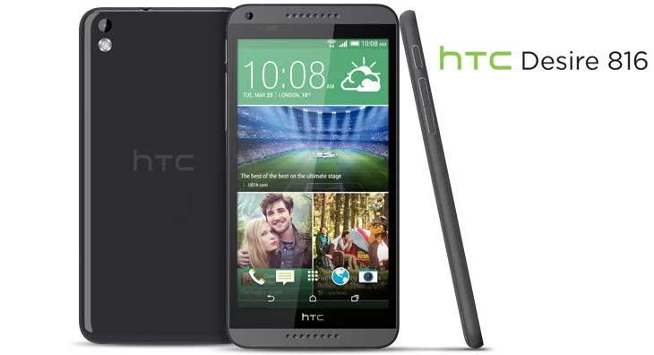 HTC takes on the mid-range with Desire 816 - 5.5-inch, Quad-core priced at Rs 23,990