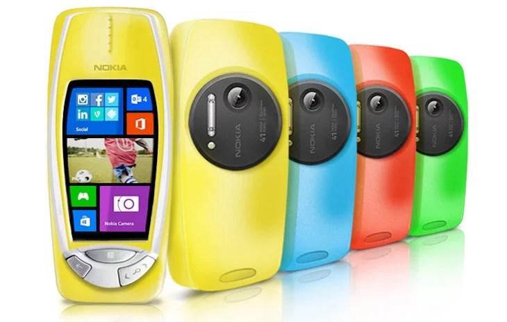 Nokia 3310 gets 41-megapixel PureView Camera