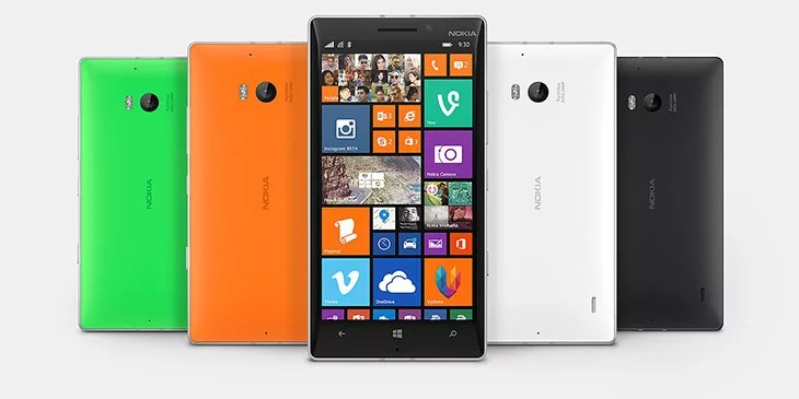 Lumia 930 with 20-megapixel PureView camera