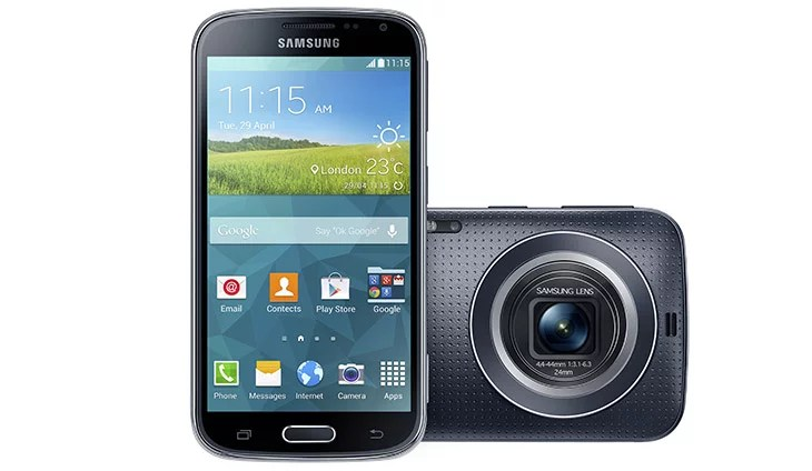 Samsung unveils Galaxy K zoom with 20.7MP sensor, Hexa-core & KitKat