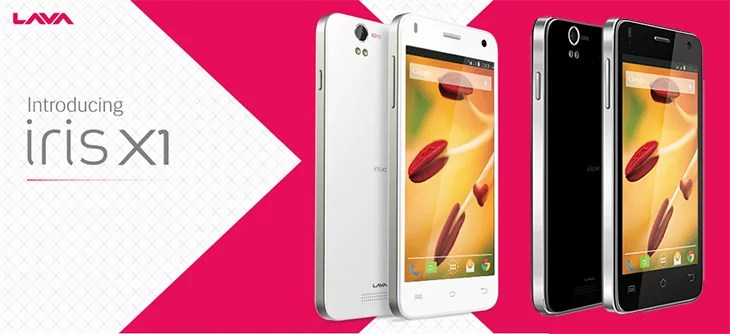 Lava introduces Iris X1 - Android Kitkat, Quad-Core CPU, 8 MP Camera at Rs 7,999