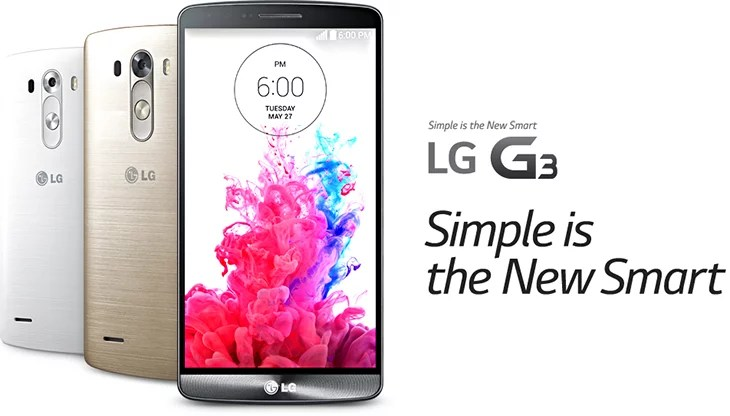 LG G3 is here! - 5.5inch QHD display, 13MP Camera with laser auto focus