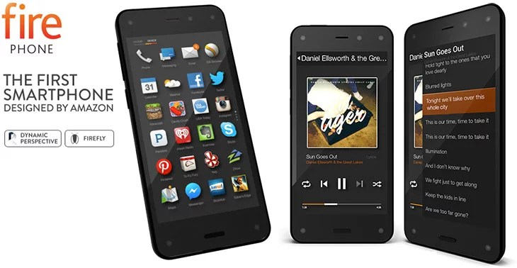 Amazon releases Fire Phone with Firefly, Dynamic Perspective, Mayday