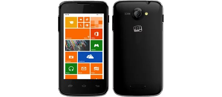 Micromax Canvas Win W092 specification and pricing India