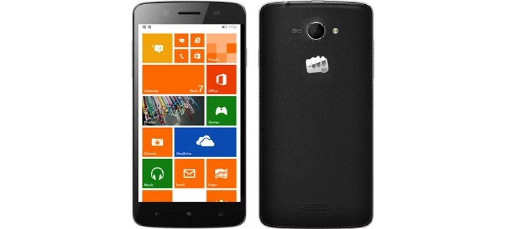 Micromax Canvas Win W121 specification and pricing India
