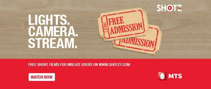 MTS to offer Free Short Films Streaming for MBlaze & Smartphone Users