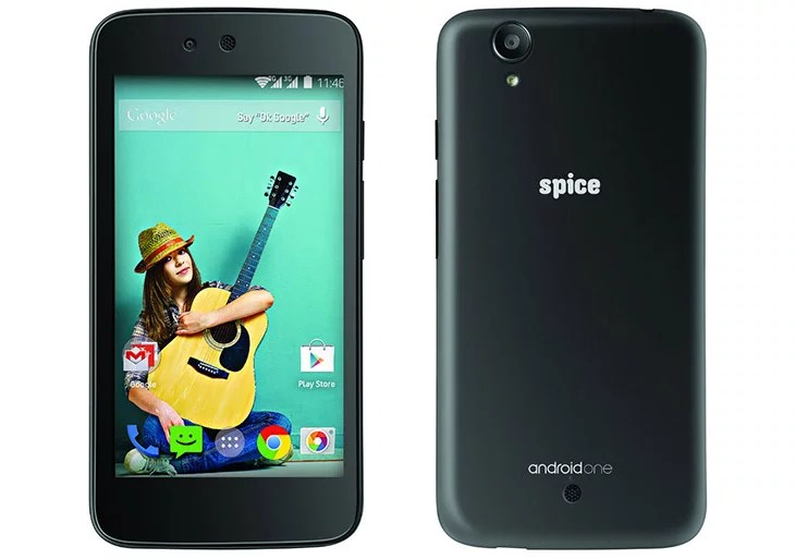 Android One - Spice comes up with Android One Dream UNO Mi-498