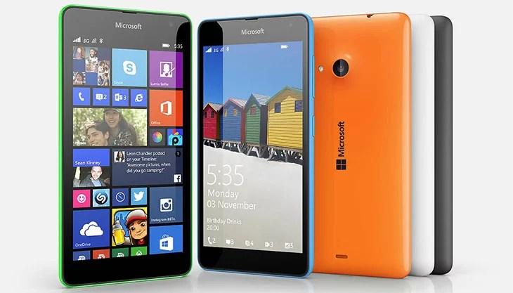 Microsoft launches Lumia 535 with quad-core processor, 5MP dual Camera & 5 inch Display