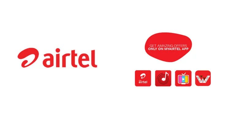 Airtel now Offers up to 1.2GB Free data on downloading Airtel Apps