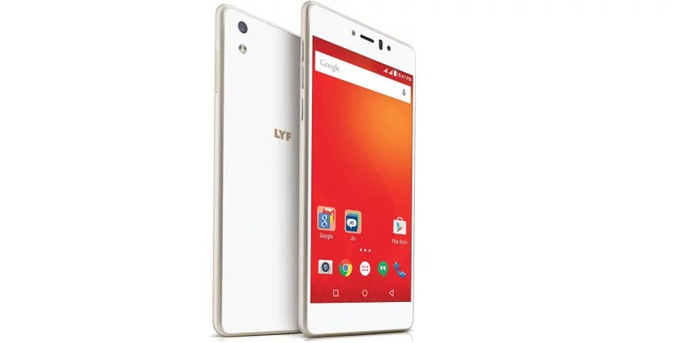 Reliance Jio unveils LYF Water series android smartphones