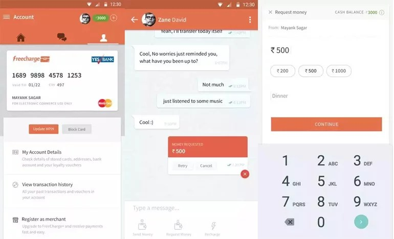FreeCharge rolls out 'Chat and Pay' - Send & Receive Payments over Chat in 5 seconds