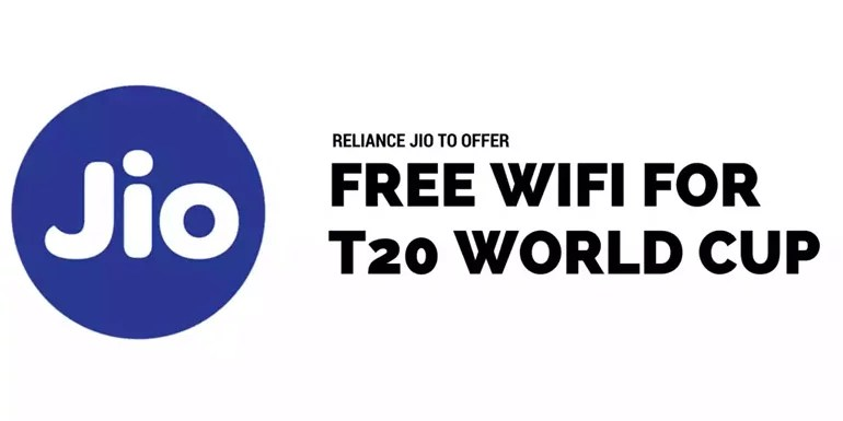 Reliance Jio to offer Free Jionet WiFi at six Cricket stadiums during ICC T20 Cricket World Cup