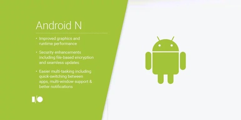 Google android N features