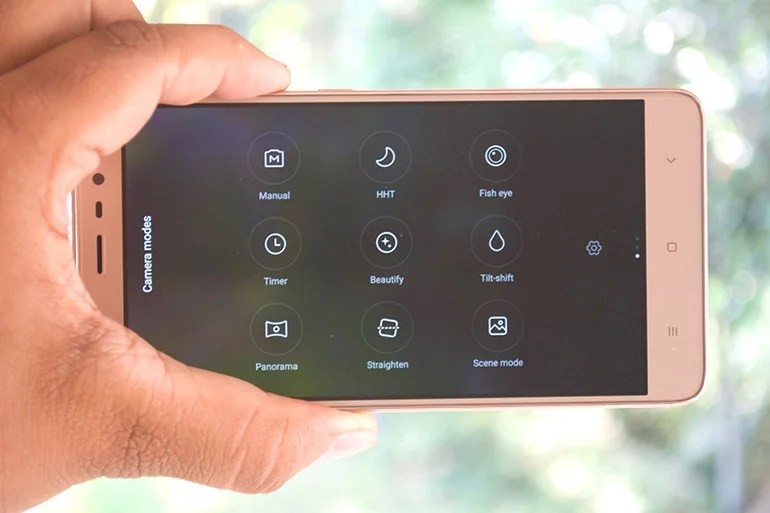 Redmi Note 3 front camera review