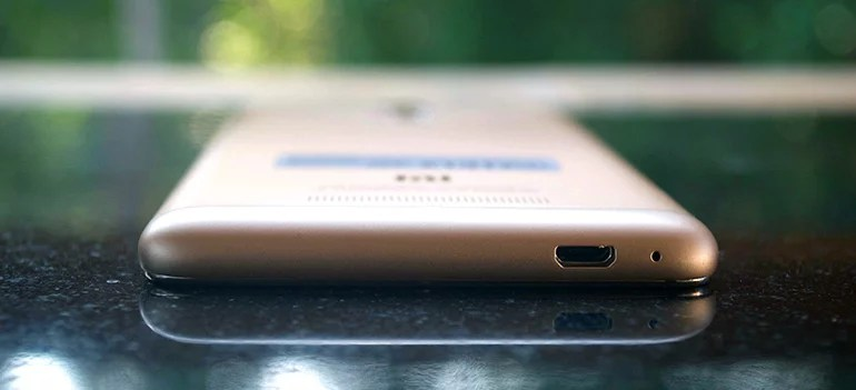 Redmi Note 3 micro-usb port review