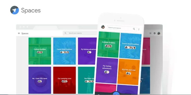 Google launches Spaces - a simple Group sharing App