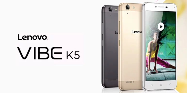 Lenovo Vibe K5 launched in India - 2GB RAM, 13MP Camera, 4G LTE