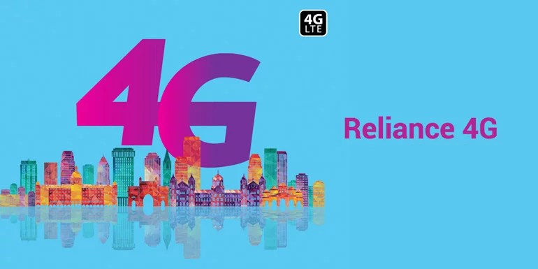 Reliance 4G (RCom 4G) officially launched in India - 4G Data Plans starting at Rs 97