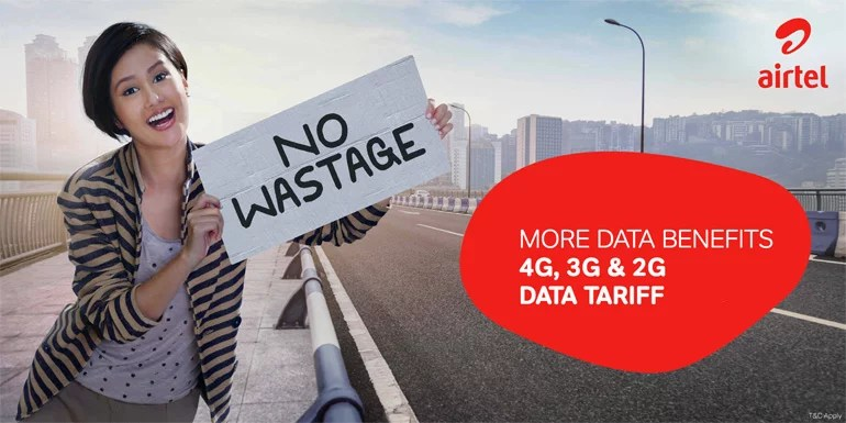 Airtel starts offering 15 GB of 4G data benefits at the