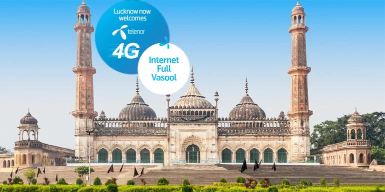 Telenor 4G launched in Lucknow – 1GB 4G data pack at Rs 149
