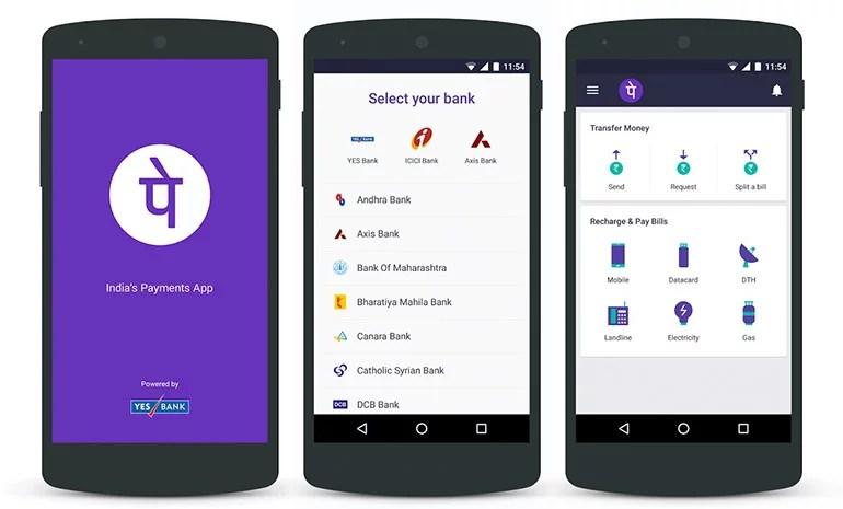 Flipkart Money upgraded to PhonePe - UPI-based mobile payments app